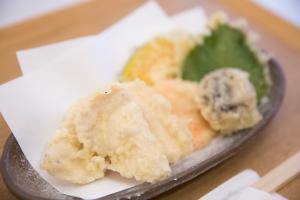 近江黒鶏の天ぷら